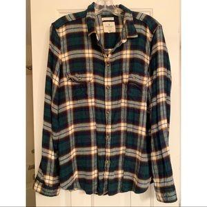 American Eagle Ahh-mazingly soft plaid shirt